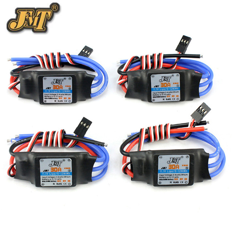 JMT 4pcs Lot Simonk Firmware 30A ESC Electric Speed Controller with 5V 3A BEC for 2