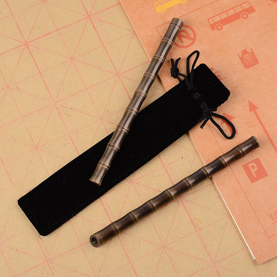 Self-defense Tactical Pen Survival Portable Outdoor EDC Tool for Pesonal Women Security Brass Metal Anti-attack
