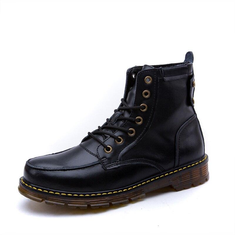 Dentelle M Sourire Vache Sneakers En Rétro rouge Véritable Cuir Travail Noir Pour Old Cowboy Chaussures marron Punk Hommes Skool up Chevaux rqqSXw1x