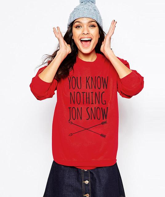 You Know Nothing Jon Snow Women Sweatshirts