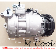 AC COMPRESSOR FOR CAR BMW X3 2.0 AIR CONDITIONER A/C REPAIR PARTS