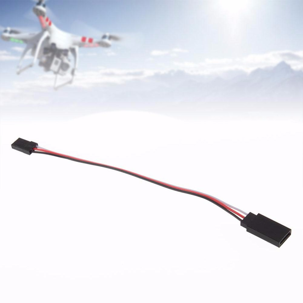 "NEW 150mm 6"" RC servo extension cord lead Wire Cable for Receiver  Connection-in Parts & Accessories from Toys & Hobbies on Aliexpress.com 
