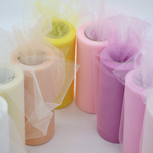 25Yards/Lot 6inch Tissue Tulle Roll Wedding Decoration Tutu Spool Craft Birthday Party Baby Shower Decor Supplies