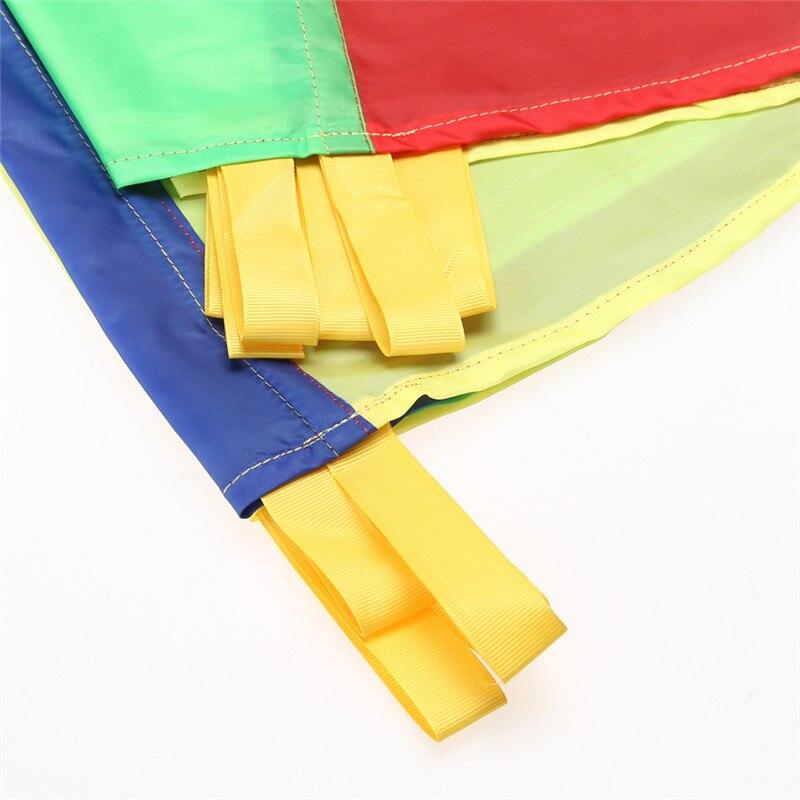 2M-Children-Kids-Outdoor-Sports-Development-Toy-Rainbow-Umbrella-Parachute-Toy-Jump-sack-Ballute-Play-Parachute-Gameing-Play-Mat-2