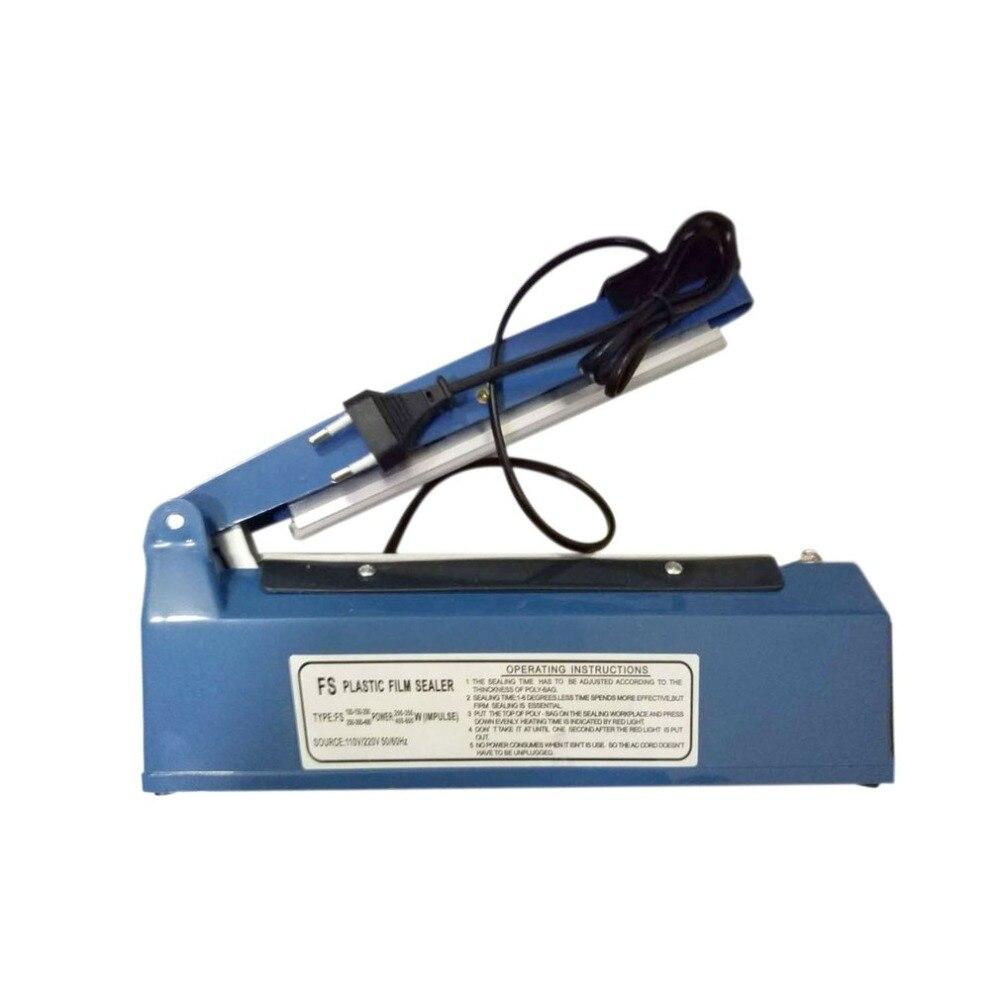 Long Strip Mini Sealing Machine Hand Pressure Heat Sealer Manual Packing Machine Tool For Plastic Film Closer Impulse Sealer