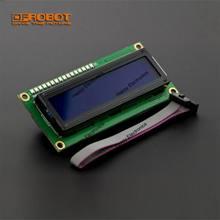DFRobot IIC LCD1602 moduł wyświetlacza lcd V1.2 5V I2C TWI interfejs Gadgeteer niebieski tył biały char dla Arduino Gadgeteer