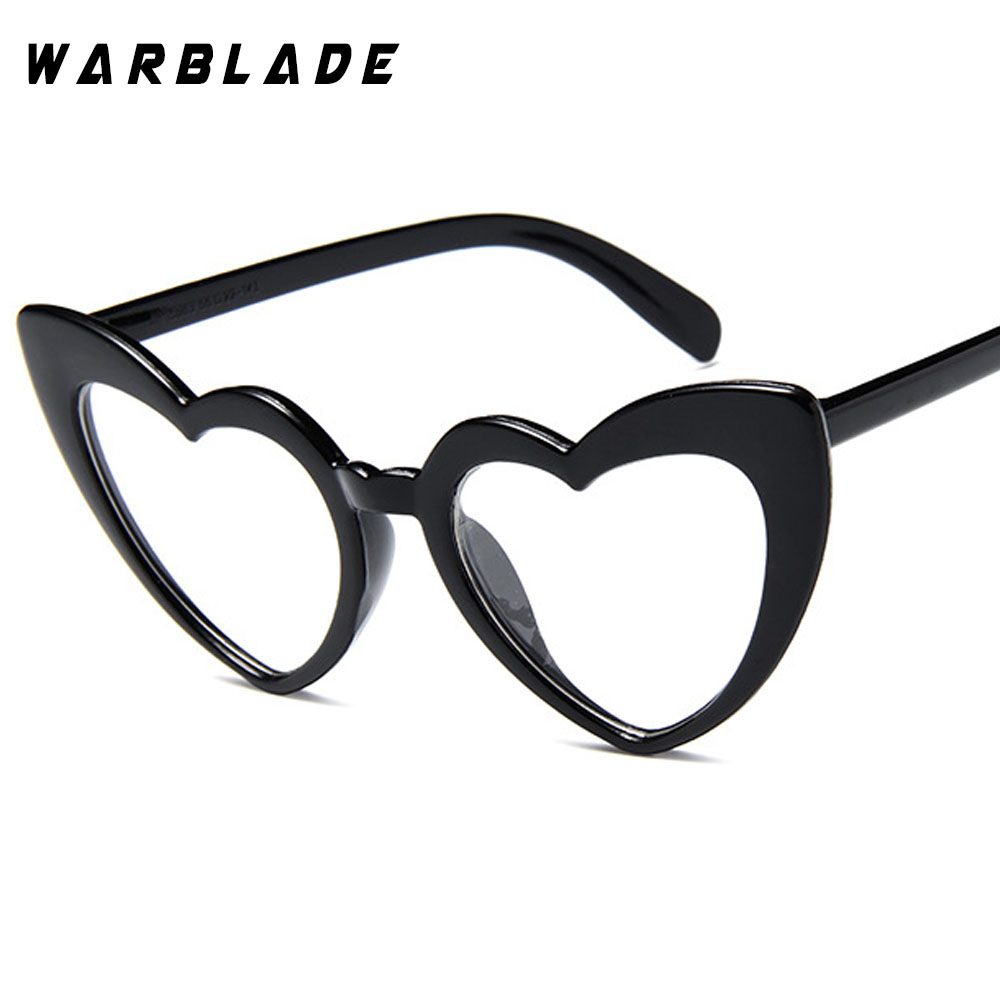 2018 Wanita kacamata Matahari Pria Retro Jantung Cat Eye glasses - Aksesori pakaian - Foto 1