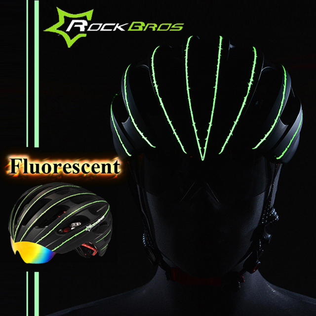 Rockbros Cycling Helmet Men/Women Breathable 32 Air Vents Goggles  Bicycle Bike Helmet With 3 Pair Lens Casco Ciclismo