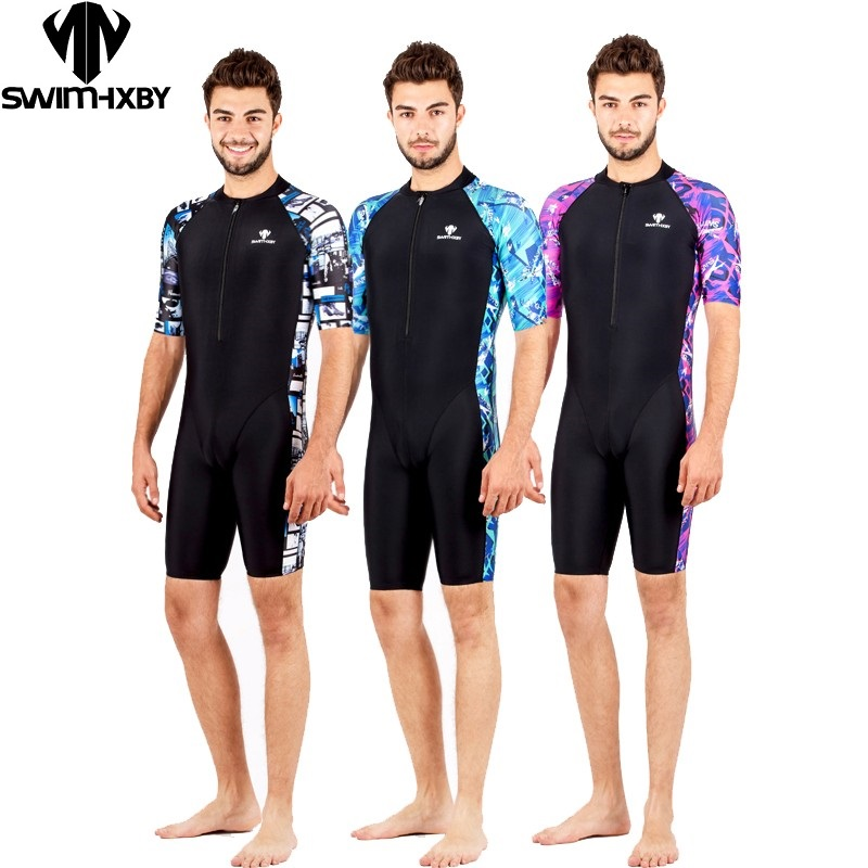 HXBY swimsuit arena swimming men swimwear black printing swimsuits men's competition legs swim suit racing competitive yingfa competitive swimming kids swimwear hxby competition swimsuits training swimsuit swim suit women girls racing plus size