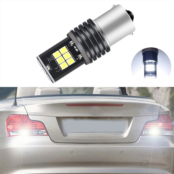 BOAOSI 1x P21W LED 1156 BA15S LED Bulbs Car Lights Reverse Brake Light For BMW 3/5 SERIES E30 E36 E46 E34 X3 X5 E53 E70 Z3 Z4 image