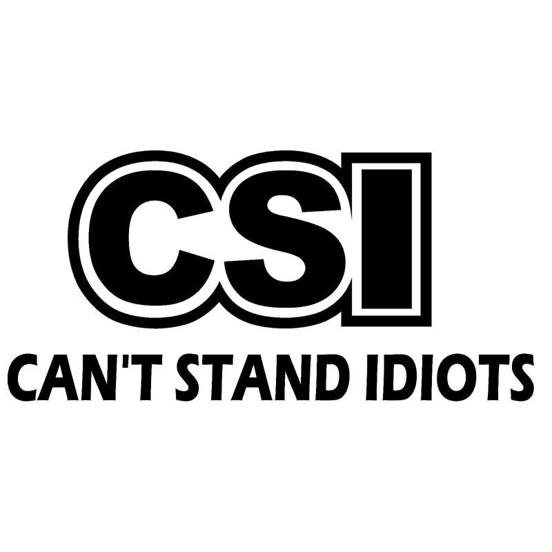 13.5X6.4CM CSI Originality Car Sticker Vinyl Decal Accessories Car-styling S8-0561