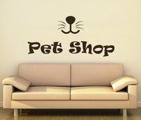 Pet Shop Wall Decal Grooming Pet Salon Wall Stickers Vinyl Interior Art Quotes Mural Decor Animal