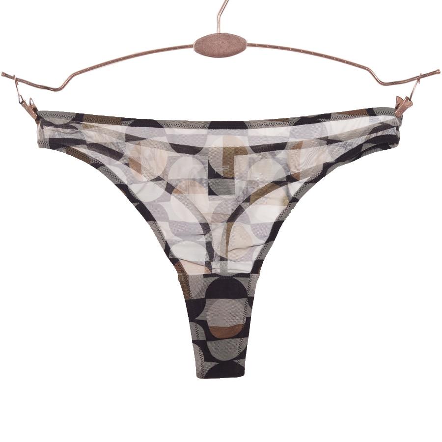 Women's Sexy Transparent Thong Girls See Through Underwear Women Camouflage Panties