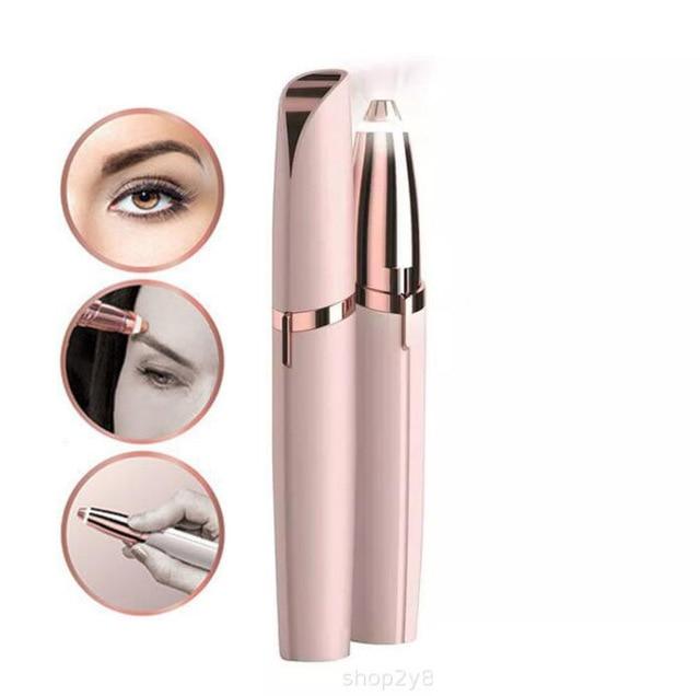 Brows Eyebrow Trimmer Mini Painless Eye Brow Epilator  For Women Eyebrow Trimmer 2