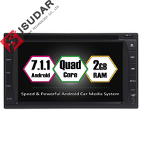 Android 7 1 1 Two Din 6 2 Inch Universal Car DVD Player Quad Core RAM