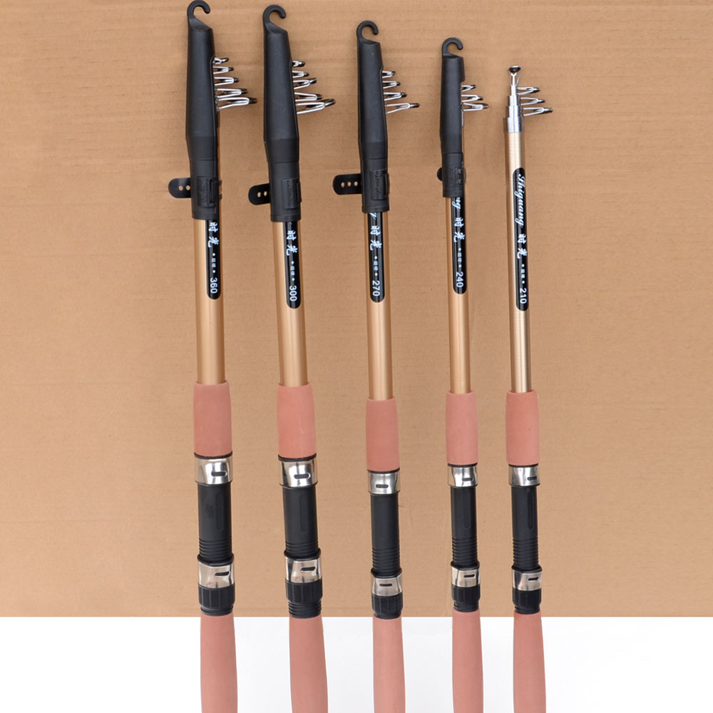 Telescopic fishing rod carbon fiber carp feeder rod surf for Telescoping fishing rod