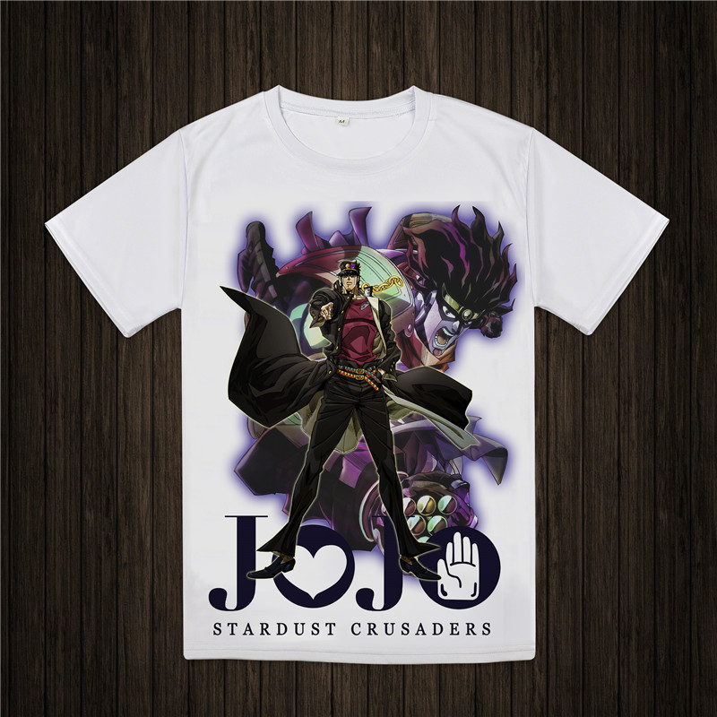 jojo's bizarre adventure   t     shirt   Jonathan Joestar Anime   T  -  shirt   cool fashion for men women jojo bizarre adventure Tee
