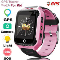 Q529 Kids Anti lost Kid Safe GPS Tracker SOS Call GSM Smart Watch Phone With Camera Call Compatible Android IOS