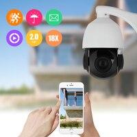 FLOUREON 1080P 4 7 84 6mm 18X ZOOM Waterproof CCTV Security IR CUT PTZ Dome Outdoor