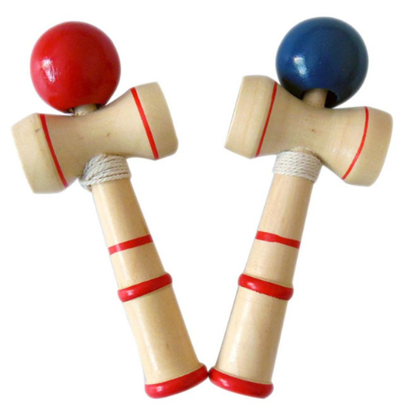 Japanese Traditional Skillful Juggling Wood Game Balls Kid Wooden Kendama Coordinate Ball Bilboquet Skill Educational Toy Gift35