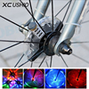 Waterproof Bicycle Wheel LED Light Bike Cycling Hubs Lights Front Rear Spoke Warning Decoration LED Wheel