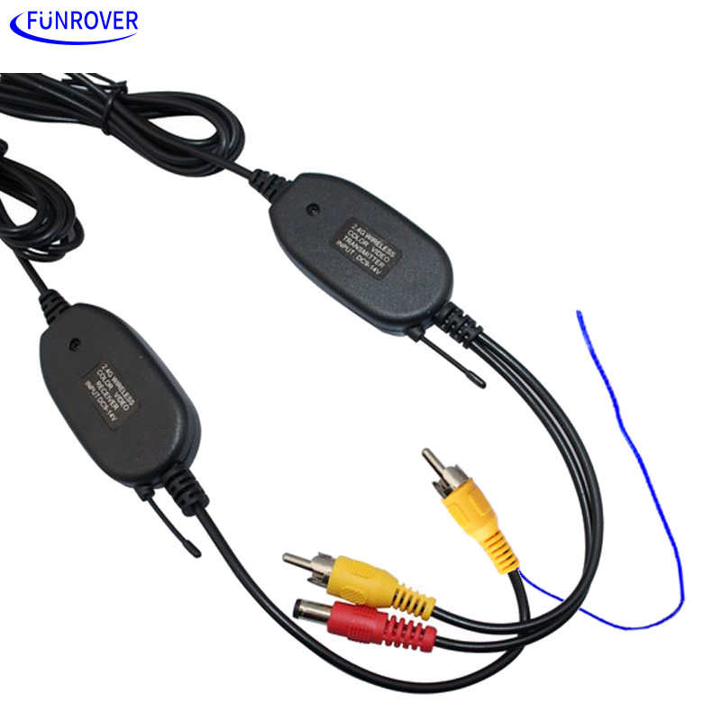 Free Shipping 2 4G WIRELESS Module adapter with transmitter receiver for Car Reverse RearView backup Camera