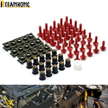 40 PIECES Motorcycle accessories fairing screw bolt windscreen For BMW R1200ST S1000 S1000XR RR XR 1000XR