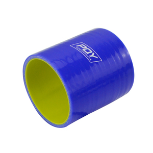"Image 4 - BLUE & Yellow 2 51mm / 2.5"" 64mm / 3"" 76mm / 4"" 102mm Straight Silicone Intercooler Turbo Intake Pipe Coupler Hose"
