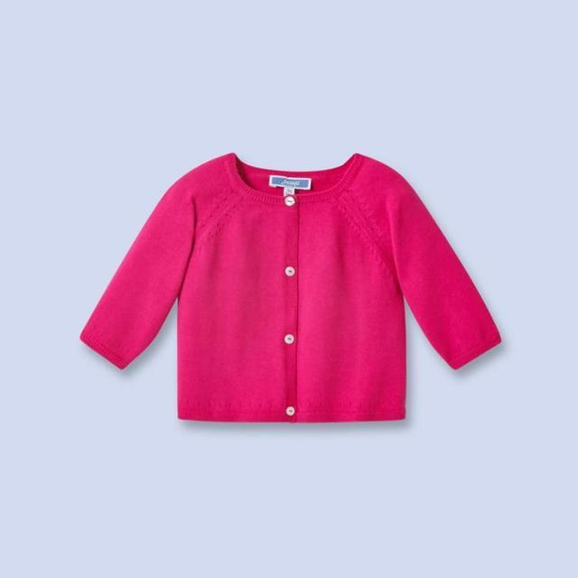 Jacadi 2016 niña niñas niños chaqueta de punto niña suéter otoño tire pour enfant fille meisjes chaleco trui 2