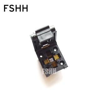 IC51-0324-1498 QFP32 TQFP32 FQFP32 IC Test Burn-in Socket Programming Adapter 0.8mm Pitch