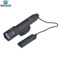 WADSN WMX200 Tactical Gun Light IR Laser LED Airsoft Strobe Light Weapon Scout Flashlight Rifle IR Hunting Flashlight