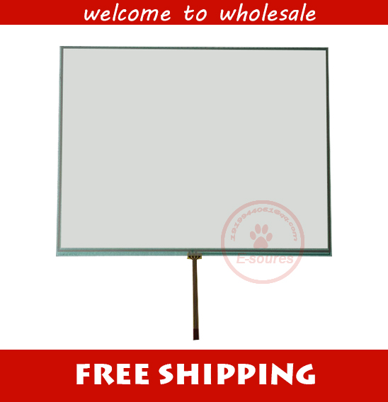 100% New 4 Wire 10.4 Touch Screen Panel Replacement N010-0554-X225/01 With 60 Days Warranty new 10 1 inch 7 wire n010 0510 t234 touch screen panel glass 90 days warranty