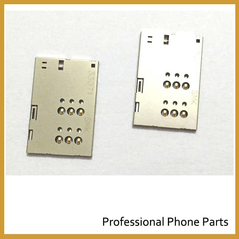 100% Original New SIM Card Socket Reader Holder Slot For Sony Xperia U ST25i ST25 mobile Phone Replacements