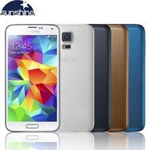 "Abierto original samsung galaxy s5 i9600 teléfono móvil quad core 5.1 ""16mp reformado teléfono nfc android smartphone"