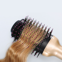 Negative Ion Ceramic Hair Curler Wet and Dry Hair Straightener Electrical Curling Brushes Straightening Comb Rizador de pelo
