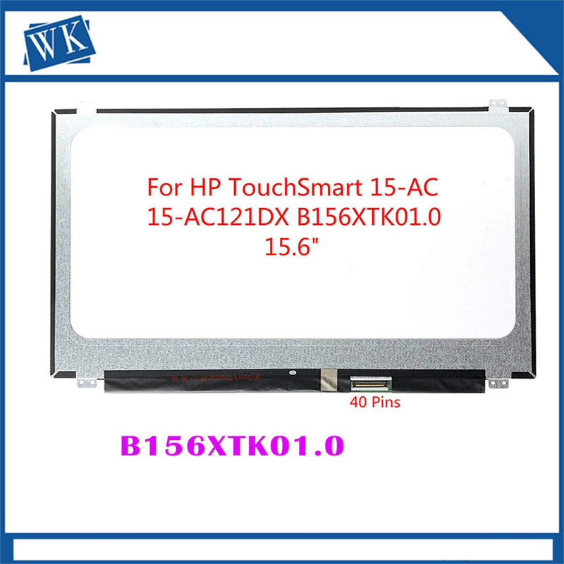 Free Shipping NT156WHM-T00 B156XTK01.0  40PINS EDP LCD SCREEN Panel Touch DisplayFOR Dell Inspiron 15 5558 Vostro 15 3558 JJ45KFree Shipping NT156WHM-T00 B156XTK01.0  40PINS EDP LCD SCREEN Panel Touch DisplayFOR Dell Inspiron 15 5558 Vostro 15 3558 JJ45K