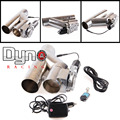 """DYNO RACING - NEW Hot Universal car style 2.5'' 3"""" Dump Valve Electric Exhaust Cutout with Wireless Remote"""