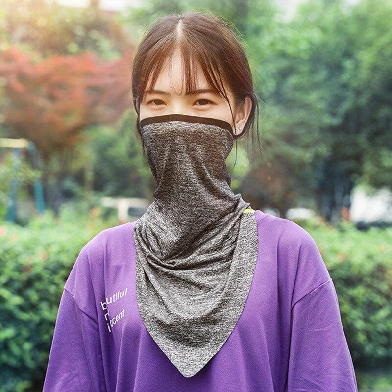 Summer Unisex Ice Silk Magic Turban Riding Mask Outdoor Sports Towel