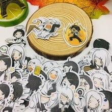 40 Pcs/lot Anime fashion girl Scrapbooking Stickers  Car Case Waterproof Laptop Bicycle Notebook Backpack waterproof Sticker