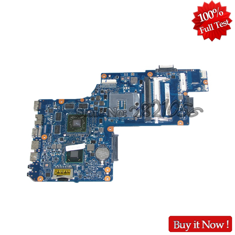 NOKOTION New H000050770 H000038420 Laptop Motherboard For Toshiba Satellite L850 C850 MAIN BOARD HM76 DDR3 HD7600M Video card