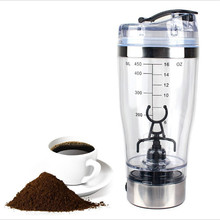 Shaker Bottle Protein Powder Water Gym Training Electric Automation Coffee Cup Milk Portable Mixing
