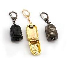 Брелок для ключей мужчин игровой держатель на 3 уровня в стиле