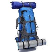 Large Capacity Camping Backpack 65L Outdoor Waterproof Hiking Mountaineering Travel Backpacks Nylon Military Backpack Sport Bags