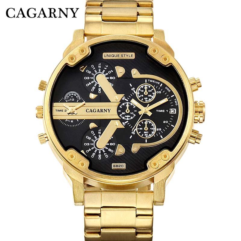 Watches Men quartz Cagarny Men's Watches Brand Analog Military male Watches Men Sports army Watch Waterproof Relogio Masculino все цены