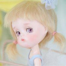 1/8 bjd boneca bjd/sd bonito adorável mong boneca com olhos livres para o presente da menina do bebê