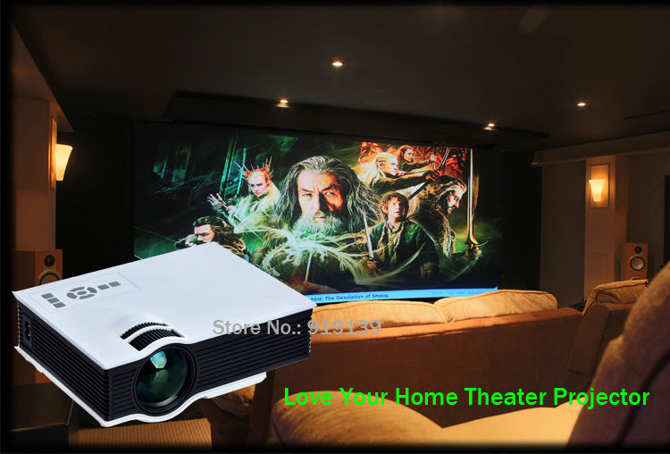 New 40 HD LED Projector pic 1