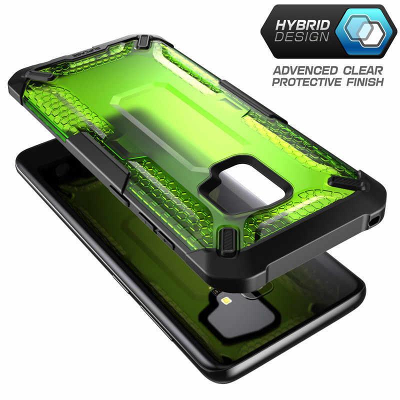 SUPCASE do Samsung Galaxy S9 przypadku jednorożca chrząszcza serii Premium TPU zderzak + PC jasne ochronne skrzynki tylna pokrywa dla S9