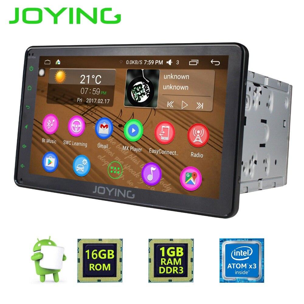 Joying Android Car Radio Stereo Accessories Gps Navigation Universal Bt 2 Din 8 Head Unit Support Steering Wheel Control Wifi 4g Smart Gadget World