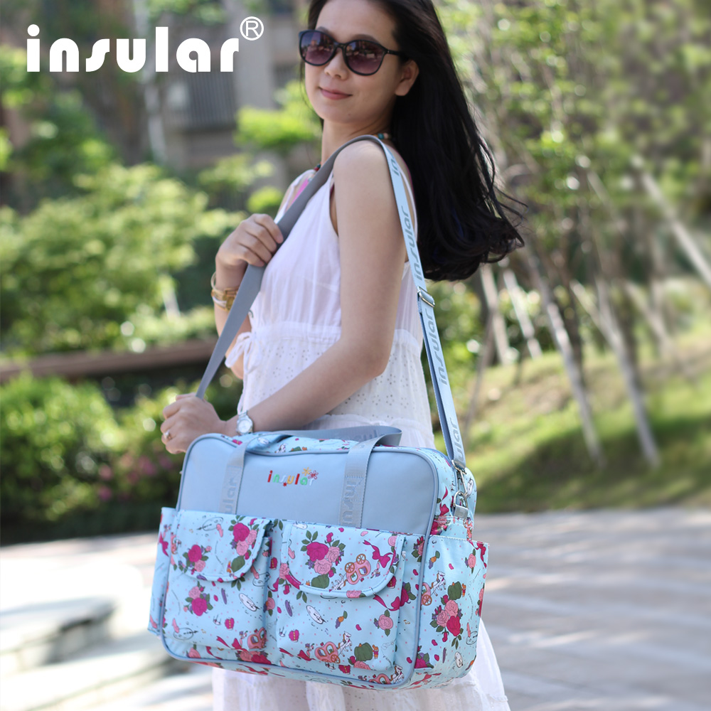 Купить с кэшбэком Diaper Bag For Mother Nappy Bag Durable Baby Bags For Stroller Baby Changing Bag Maternity Tote