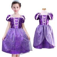 Girls Halloween Dress Snow Romance Cosplay CostumeCinderella Dress Children